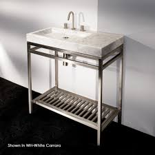 carrara marble console sink bathroom bathroom sink metal legs sinks carrara marble console