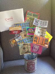 boys birthday gift idea gift cards lotto tickets and