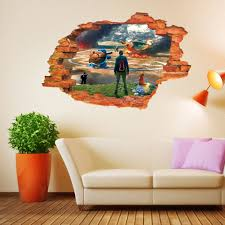 popular fight decal buy cheap lots from china wall stickers pokemon fighting cartoon posters decals children sticker mural wallpaper home decoration