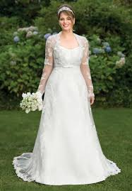 plus size wedding dresses with sleeves or jackets plus size wedding gowns with lace sleeves page 4 of 5