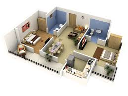 3d Home Plans by 3 Bedroom 2 Story House Plans 3d Arts