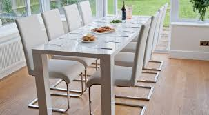 photo gallery of white dining table viewing 12 of 15 photos