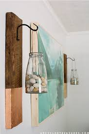 large wood wall hanging remodelaholic inexpensive diy large scale wall