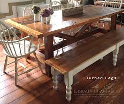 Best Reclaimed Barn Wood Furniture By E Braun Farm Tables - Handcrafted dining room tables