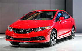 2017 honda civic si front view design red color pictures