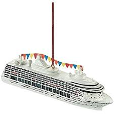 cruise ship ornament by midwest cbk home kitchen