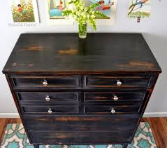 dressers astounding black dresser with white drawers picture