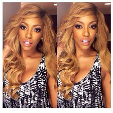 wigs by porsha porsha williams goes honey blonde kontrol magazine pinterest