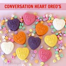conversation heart the partiologist conversation heart oreo s