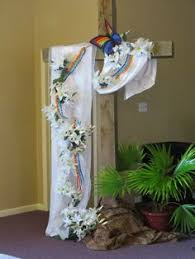 Altar Decorations Easter Altar Decorations The Altar Is Made Of Wood And Is In The