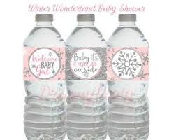 Pink Winter Wonderland Baby Shower Theme