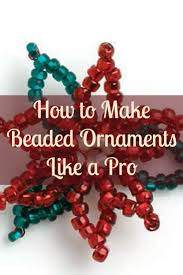 25 unique beaded ornaments ideas on beaded