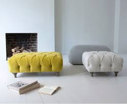 White Ottoman Coffee Table - best 25 footstool coffee table ideas on pinterest upholstered