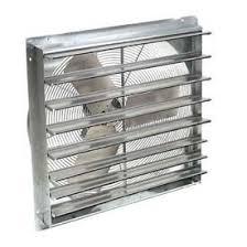 exhaust fan for welding shop exhaust fans ventilation exhaust fans shutter guard mount