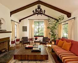 spanish home home design view of hacienda style living room design pinterest