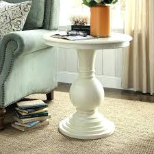 round pedestal accent table side tables black pedestal side table medium size of round