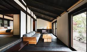 spend a night in an old japanese style house where samurai once