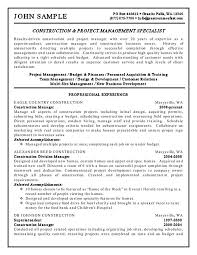 Resume With Salary Requirements Example by Construction Superintendent Job Description Learn About The