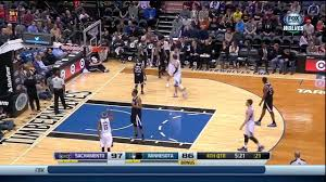 kings bench scatters as nikola pekovic chases a rebound youtube