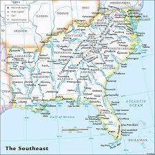 map usa southeast us southeast regional wall map by geonova