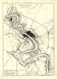 map of bagdad map of baghdad and its surroundings 1917خارطة بغداد و ضواحيها