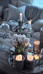 coffee table decor candles little busy i u0027d edit say one of the