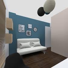 chambre noir et turquoise déco quelle couleur chambre fille orleans 1637 17370947 cher