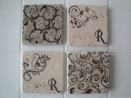 Popular Diy Stone Tile Buy by Diy Marble Tile Coasters Tumbled Marble Tile From Lowes Less