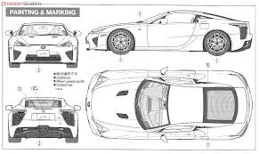 lexus lfa model car lexus lfa model car color2