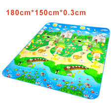 Kid Play Rug Children Crawl Mat Bebe Plastic Play Mat Carpet For Kid