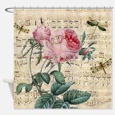 Vintage Style Shower Curtain Vintage Rose Floral Shower Curtain Zulily Zulilyfinds Would