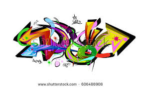 graffiti design graffiti arrows designs vector illustration stock vector 606486908