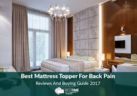 best mattress topper for back pain reviews and buying guide 2017