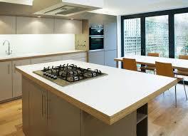 birch kitchen island white formica and birch ply kitchen worktops home ideas