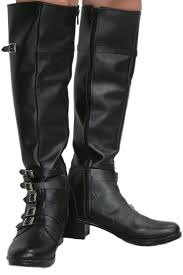 the movie captain america 3 scarlet witch boots black pu knee high