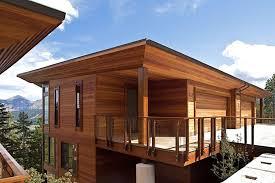 modern wood paneling exterior best house design modern wood