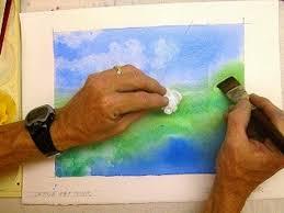 5 techniques to lift remove erase dry watercolor paint