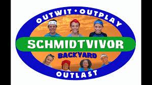 schmidtvivor episode 1 backyard youtube