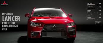lancer mitsubishi 2015 mitsubishi lancer evolution final edition 2015 gran turismo