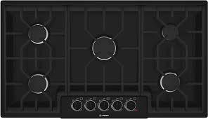 bosch ngm5664uc 36 inch gas cooktop with 5 sealed burners