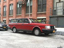 1992 Volvo 240 Red Station Wagon 143k Miles New York Volvo