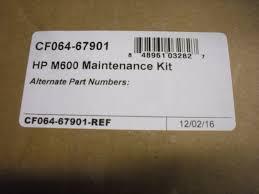 fuser maintenance kit roller for hp laserjet 600 m601 m602 m603