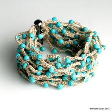 crochet bracelet with beads images Astonishing design crochet bracelet with beads bead tubular and jpg