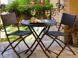 patio 14 inspiring small patio table and chairs concrete