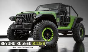 concept jeep beyond rugged rides jeep trailcat concept
