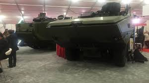 amphibious vehicle military saic to build first amphibious combat vehicle hull next month
