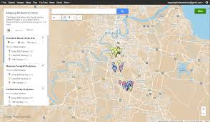 Google Map Location History Mapping Brisbane History Dr Neville Buch