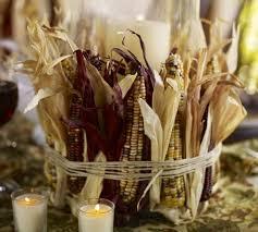 Brown Vase Fillers Mini Indian Corn Vase Filler Pottery Barn