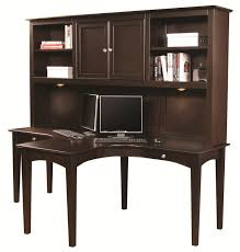 e2 midtown two person dual t curved desk with storage hutch