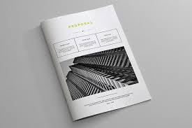 indesign business proposal template brochure templates